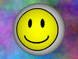 Smiley with no multitexture