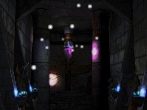 Screenshot of multiple lights demo